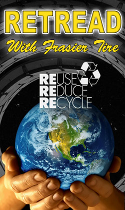 Retread with Frasier Tire